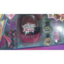 Set Decoración De Uñas Barbie Power Super Para Niñas