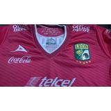 Leon Fc Jersey Pirma Rosa 2013 Original Nuevo Con Etiquetas