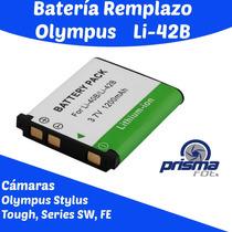 162 Bateria Recargable Li-42b Para Olympus