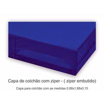Capa Napa Impermeável C/ Zíper P/ Colchão Hospitalar
