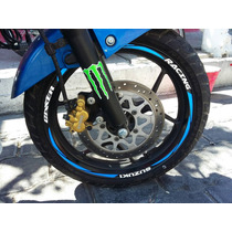 Stickers Calcas Cintas Rin Motos Pulsar 200ns Fz Ktm Invicta