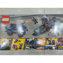 Lego Dc Comics Black Panther, Capitan America Y Soldado Invi