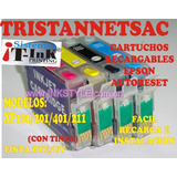 Nuevos Recargables Ep Series Xp101/201/401/211 Con Tinta Uv