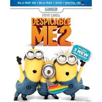 Blu-ray Despicable Me 2 3d / Mi Villano Favorito 2/3d 2d Dvd