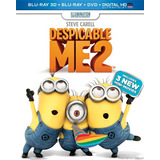 Blu-ray Despicable Me 2 / Mi Villano Favorito 2 3d 2d Dvd
