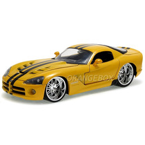 Dodge Viper Srt10 2008 1:24 Jada Toys 91803-amarelo