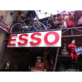 Placa Da Esso Gigante - Acrilico