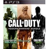 Call Of Duty Modern Warfare Pack 1,2,3 Ps3 Digital
