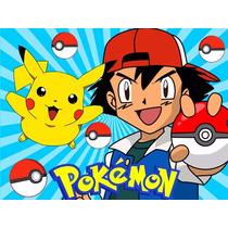 Kit Imprimible Pokemon, Invitaciones, Cajitas, Decoraciones
