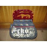 Bolsa Feminina Ecko Red Original Com Strass Modelo Exclusivo