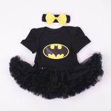 ¡ Body Bebe Mameluco Frozen Batman Tul Tutu 7 A 12 Meses !
