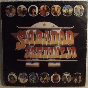 Lp / Vinil Sertanejo: Sabadão Sertanejo - Coletânea - 1991