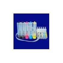 Sistema Continuo De Tinta Para Impresor Epson Workforce 30