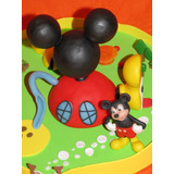 Casa Mickey Mouse Porcelana Fria Cumpleaños Torta Adorno