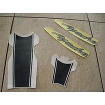 Kit Adesivos Dafra Apache 150 Preto Original