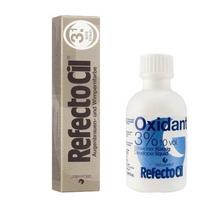 Tintura + Oxidante Cílio Sobrancelha Refectocil Castanho 3.1