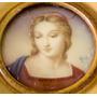 Alex - Antiga Pintura S/ Celuloide Fig. Madona Assin. 7x7cm