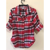 Camisa De Flanela Xadrez Feminina