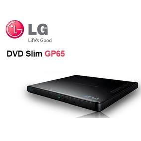 Gravador Leitor Dvd Cd Externo Usb Lg Portatil Slim Preto
