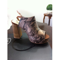 Zapatos Nuevos Marca Marquis Nº 37 Cuero Serpiente