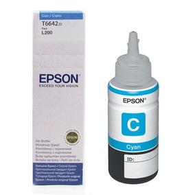 Cartucho Epson T664220 Cyan Recarga 70ml