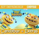 Kit Imprimible Henry Monstruito - Candy Bar + Promo 2x1