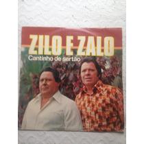 Lp Vinil Zilo E Zalo - Cantinho Do Sertão - 1981