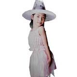 Disfraz Princesa Hechicera +sombrero Para Niñas Tallas L M S