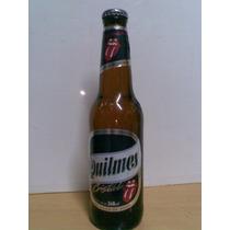 Quilmes *rolling Stones* - Botellita De Vidrio Llena - 12 U.