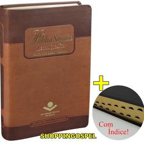 Bíblia Sagrada Letra Gigante Luxo Rc Palavras Jesus Vermelho