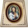 Zuley - Antiga Pintura S/celuloide Fig. Dama Assin. 12x10cm