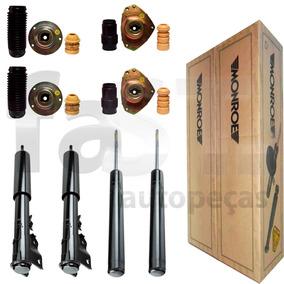 4 Amortecedores Monroe + Kits Fiat Tempra 2.0 8v 16v 91/99