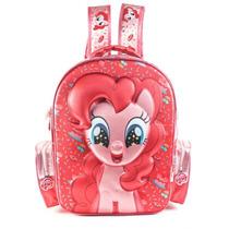 Mochila My Little Pony 17 Pulgadas 3d Con Relieve Original!!