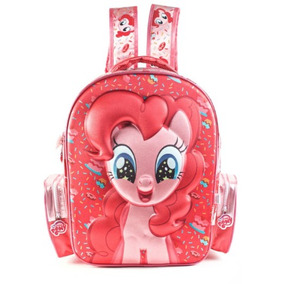 Mochila My Little Pony 17 Pulgadas 3d Con Relieve Original!!