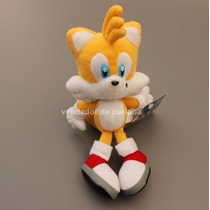 Boneco Tails Do Game Sonic Pelúcia - Pronta Entrega! 23 Cm
