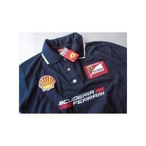 Camisa Gola Pollo Ferrari Masculina Bordada Pronta Entrega!!