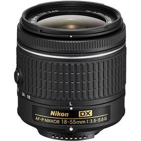 Nikon Af-p Dx Nikkor 18-55mm F/3.5-5.6g Lente (compruebe