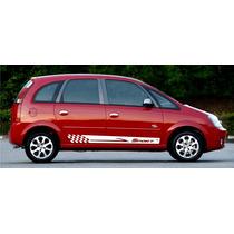Kit Adesivo Meriva Chevrolet Faixa Lateral Tuning Acessórios