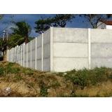 Muro De Placas De Concreto Instalado Com Garantia Oriente