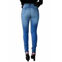 Calça Jeans Feminina Skinny Cintura Média Denuncia Promoção
