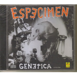 Especimen - Genetica ( Punk Hardcore Mexicano ) Cd Rock
