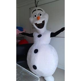 Locação De Fantasia Olaf Frozen Só Para Sp/abcd R$ 150,00
