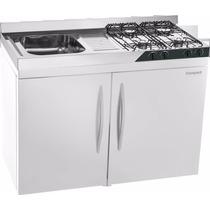 Mini Cozinha Compact 4x1 Pia,fogão,geladeira 12v/24v,armário