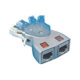 Extenção Ethernet Fácil Flexcat 2xrj45 2un.
