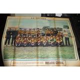 Poster Antiguo Rosario Central 1971 Original Epoca - Munro