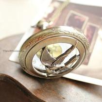 Reloj Collar Sinsajo Hunger Games Juegos Del Hambre Rm4