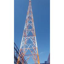 Torre Auto Portante Quadrada 60 Metros Internet & Rádio