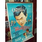 Afiche Cine Mi Primera Novia Palito Ortega