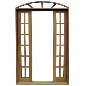 Porta Balcão De Correr Itaúba Em Arco - 2,35 (a) X 2,20 (l)