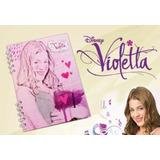 Agenda Violetta 16 X 21 Cm Semanal Perpetua Espiralada